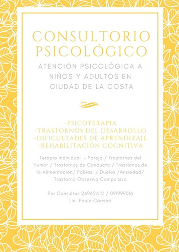 psicologa ciudad de la costa