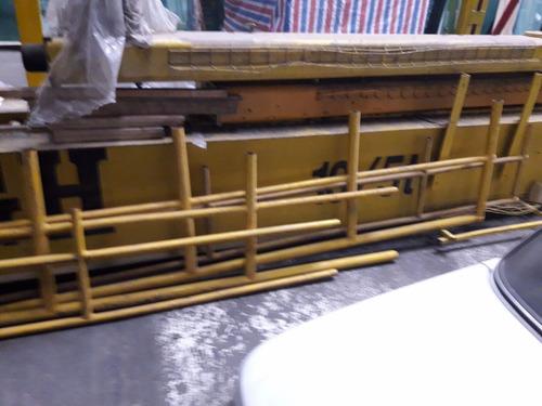 puente grúa 10 y 5 toneladas