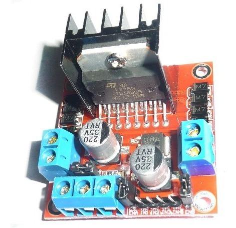 puente h l298n motor drive arduino