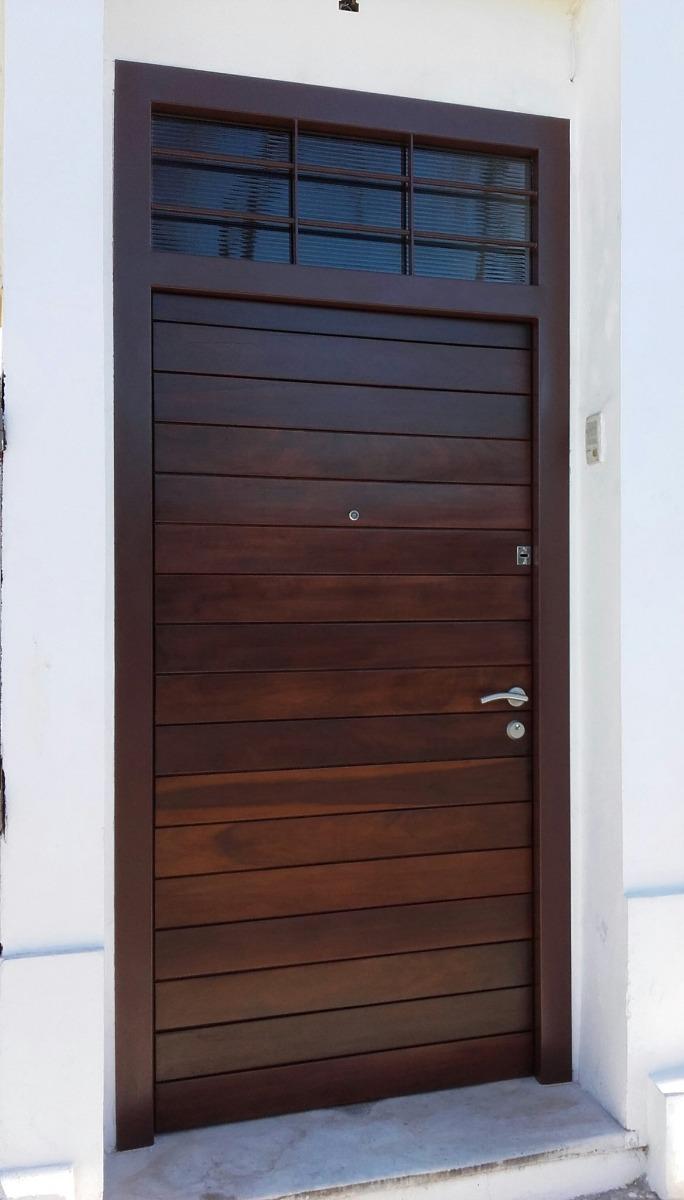Puerta Blindada De Seguridad Precio A Convenir - $ 480,00 en Mercado ...