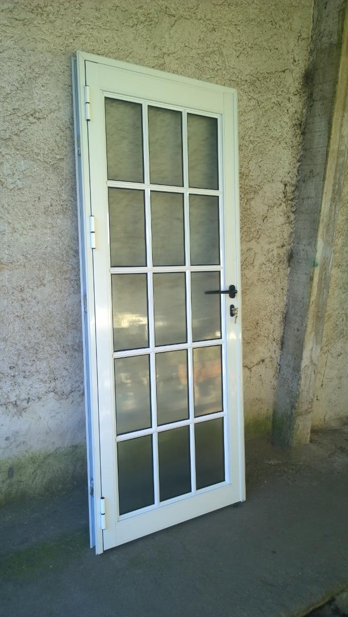 Puerta colonial aluminio en color blanco u s 465 00 en for Aberturas de aluminio blanco precios rosario