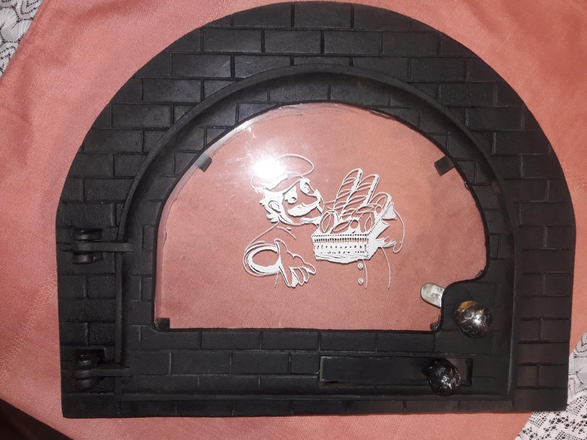 14c18dfd4695 Puerta De Horno Hierro Fundido C/ Vidrio..pizza, Asados,pan ...
