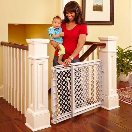 puerta de seguridad para niños north states #8670 65a104cms