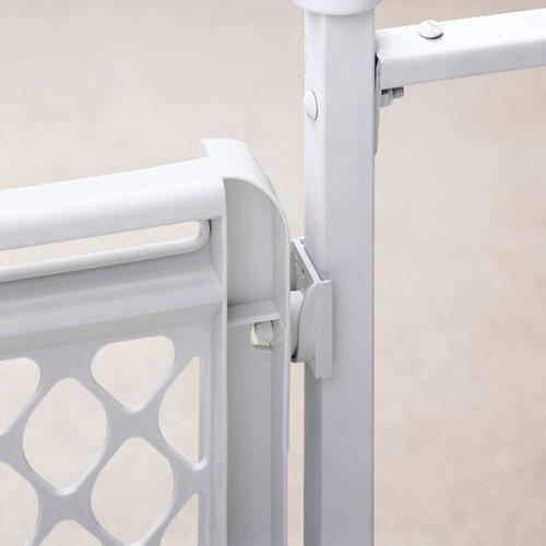 puerta de seguridad para niños northstates #8615 de 66-106cm