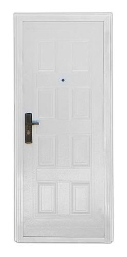 puerta doble chapa importada