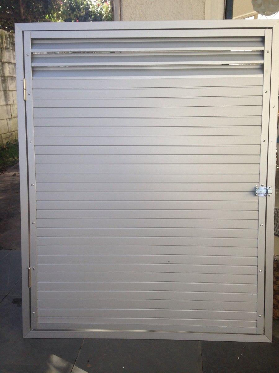 Puerta En Aluminio De 80 X 100 Con Marco Para Box De Bombas ...