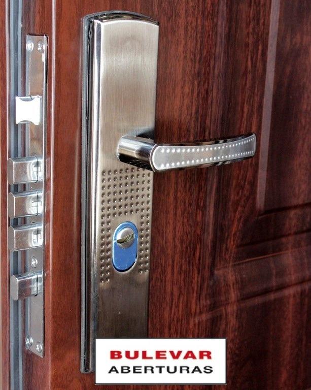 Puerta exterior doble chapa semi blindada en mercado libre - Puertas chapa exterior ...