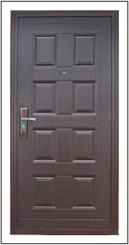 puerta exterior económica doble chapa pintada