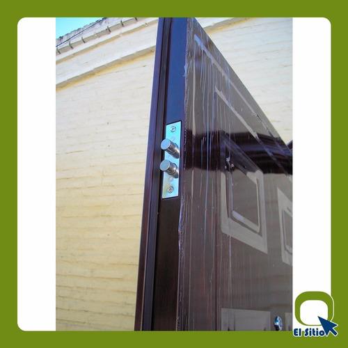 puerta importada semiblindada 0,85 x 2,05 mts x 6 cm