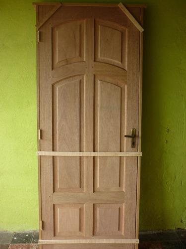 puerta madera exteriores