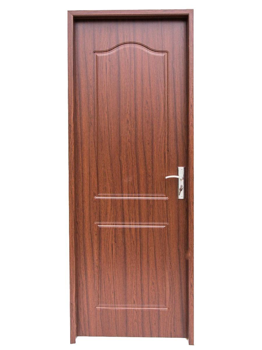 Puerta Para Interior Mdf Pvc Color Madera Blanco Y Gris