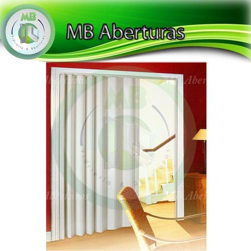 puerta plegable en pvc interior excelente calidad!