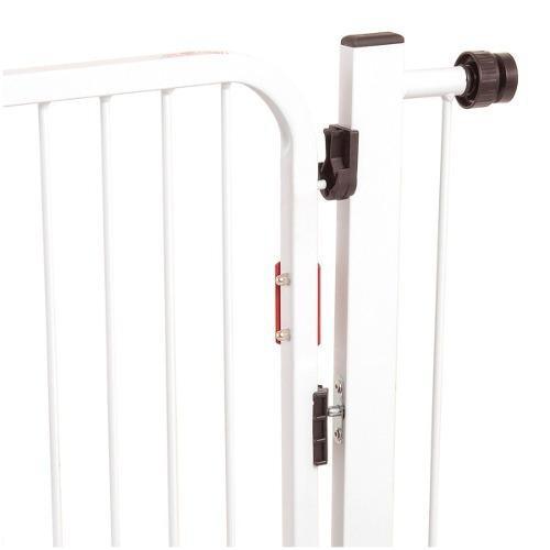 puerta seguridad bebe puerta escalera portón auto click