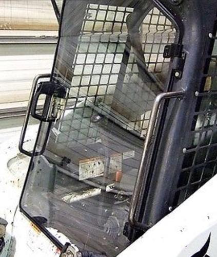 puerta y cerramiento para minicargadora bobcat new holland