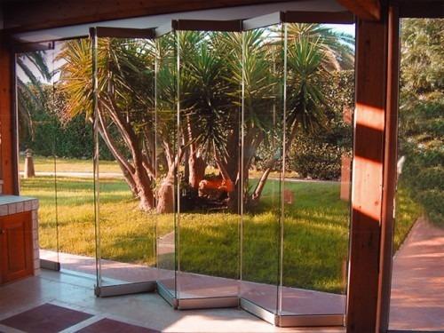 puertas corredizas plegables