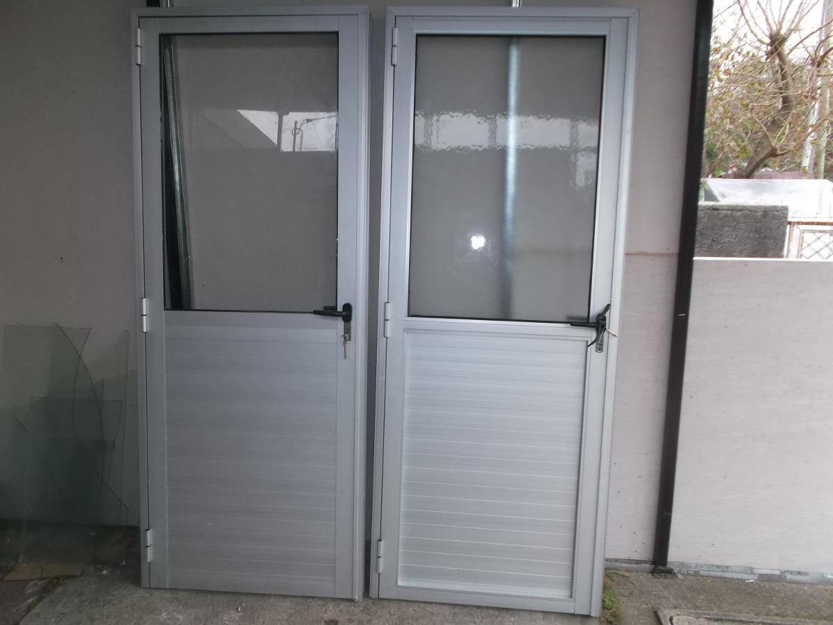 Puertas de aluminio gris natural en mercado libre - Puerta de exterior ...