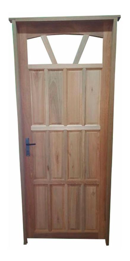 Puertas En Madera Para Exterior Marco De Eucaliptus