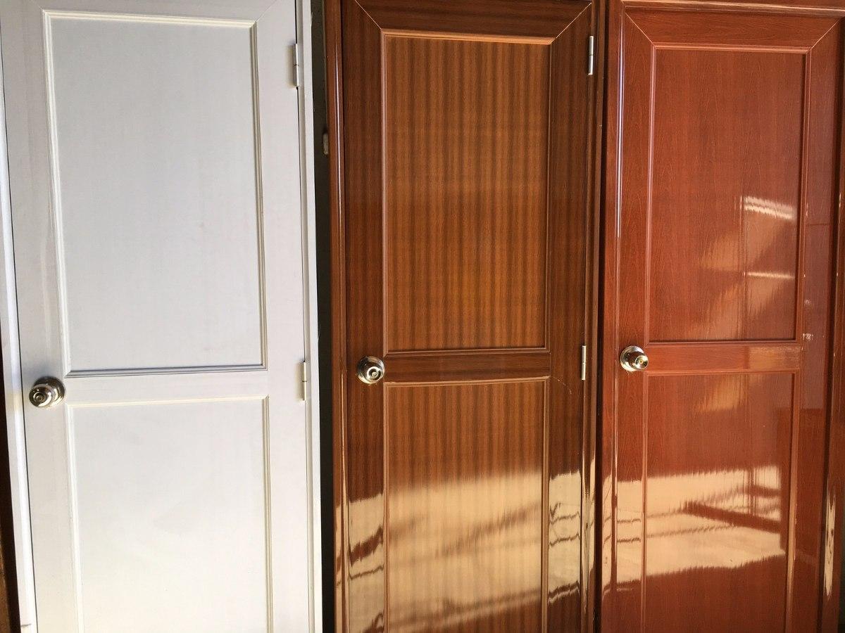 Puertas Interiores Mdf Con Terminacion Pvc Madera Blanca