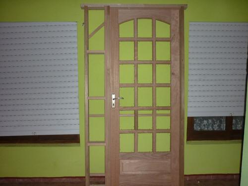 puertas madera madera con