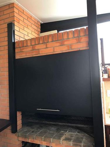 puertas para parrilleros guillotinas