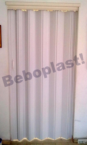 puertas plegables pvc importadas 0.60 x 2,10 blanco oferta