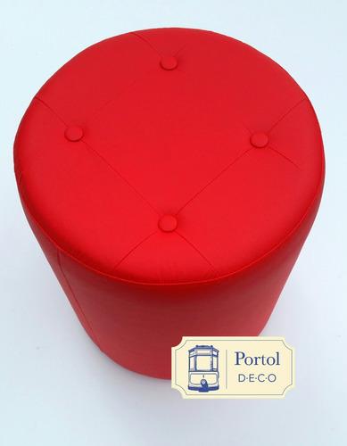 puff cilindro 40x40