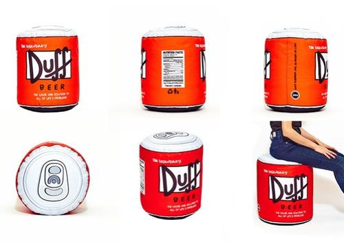 puff duff cerveza simpsons diseño redondo pattauf