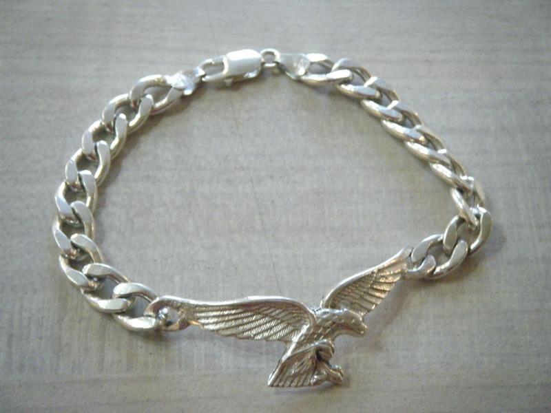 d106be0cc98 Pulsera En Plata Con Águila - $ 3.490,00 en Mercado Libre