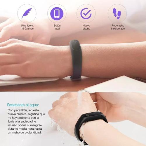 pulsera inteligente smartband xiaomi mi band 2 reloj correr®