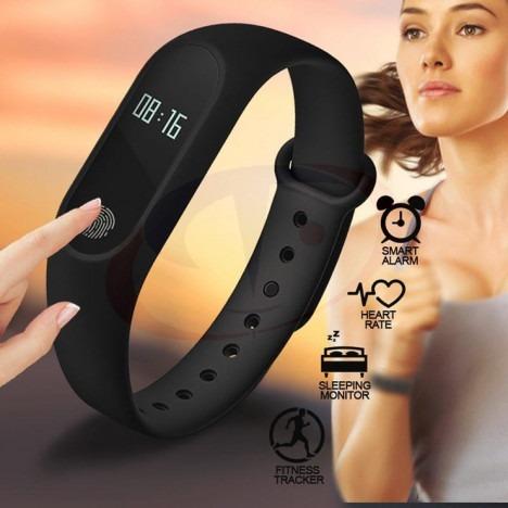 pulsera smartband m2 tipo xiaomi mi band 2