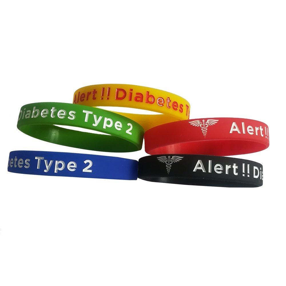 8c224dae5577 pulseras de diabetes tipo 2 pulseras de alerta médica de. Cargando zoom.