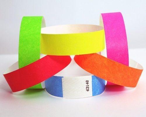 pulseras identificación, personalizadas, seguridad, fiestas