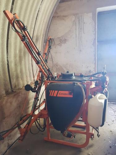 pulverizador condorito 400 lts con marcador de espuma