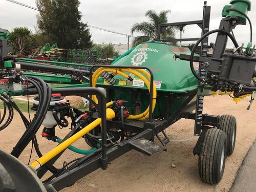 pulverizadora praba 2000 lts base tandem maquinaria agrícola