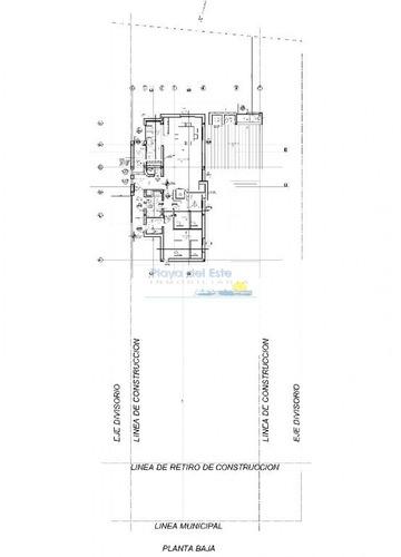 punta ballena, 3 dormitorios y piscina - ref: 10069