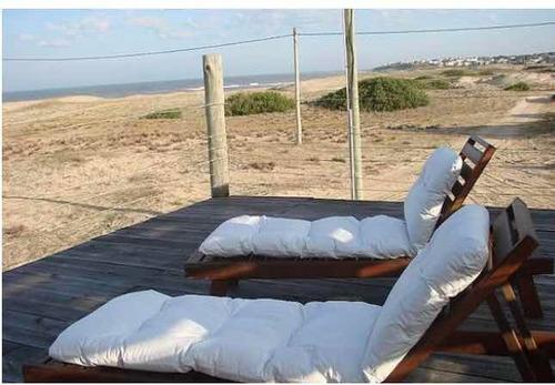 punta rubia , la pedrera . casa en la playa 5 personas