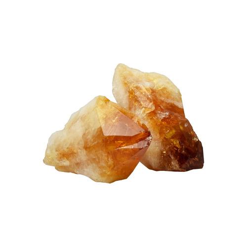 puntas de citrino en bruto by sarah kosta joyas