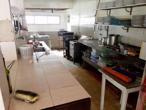 punto río | local con restaurante equipado en la paloma