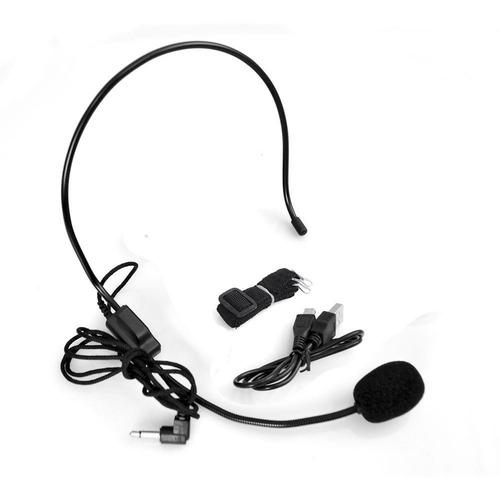 pyle pwma40bt waist band portable pa system voice