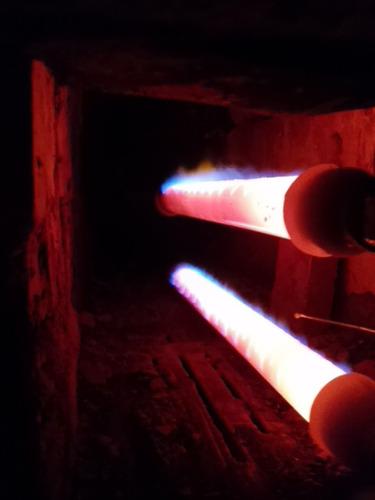 quemador industrial gas por infrarrojo
