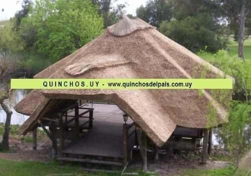 quinchos, tejas, construcciones, pérgolas, deck y mucho más