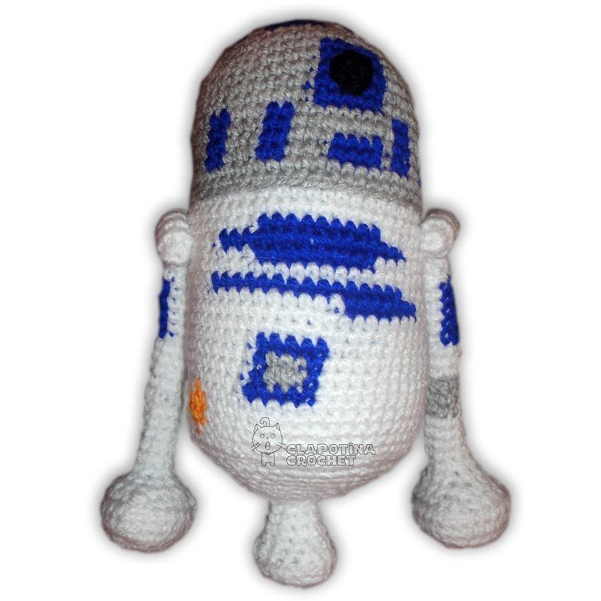 R2 D2 Artoo Star Wars Amigurumi #clapotinacrochet - $ 340.00 en ...