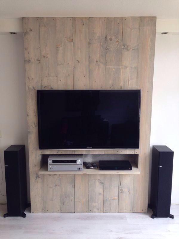 Muebles Rack Tv : Rack de tv estilo industrial madera pallets living muebles