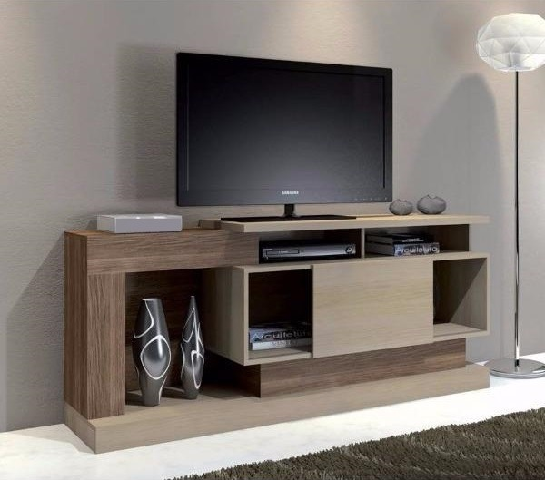 Rack Modular Tv Led Lcd Muebles Living Comedor Moderno Ebz