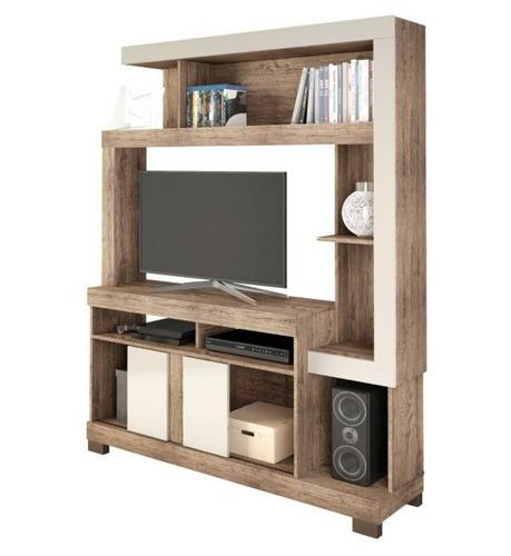 rack mueble tv led televisor living liz - dormire