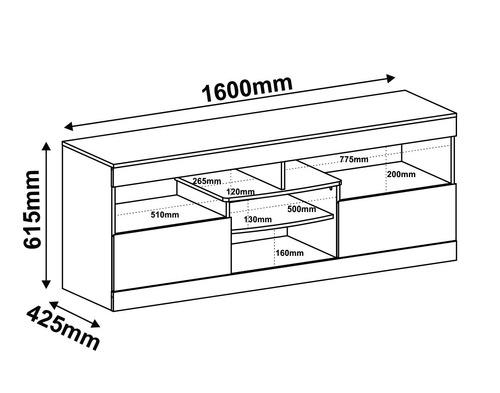 rack  para tv lcd led plasma ruedas cajones mobelstore