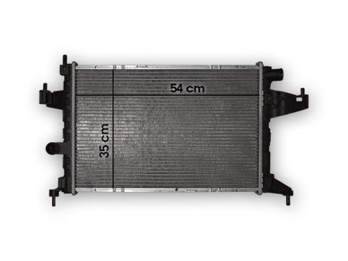 radiador gm chevrolet corsa 2 montana 1.8n 03/- con a.a.