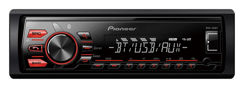 radio auto pioneer mvh-295bt desmontable bluetooth usb mp3