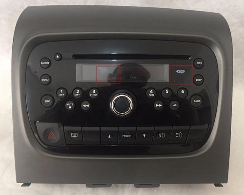 radio cd player fiat palio idea grand siena com cod
