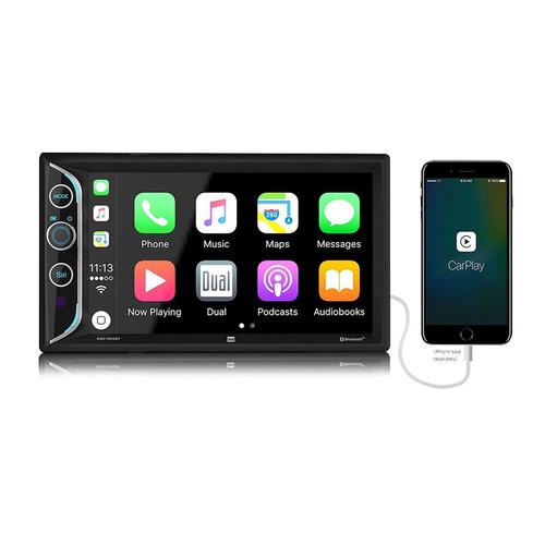 radio digital multimedia dual 6.2 led dac1025bt #oca